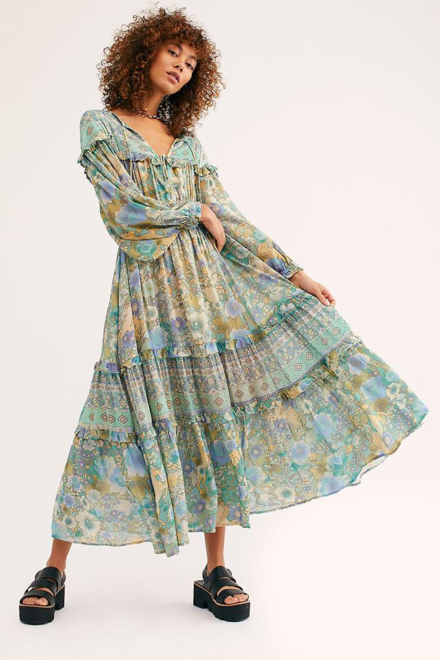 Amethyst-Kleid