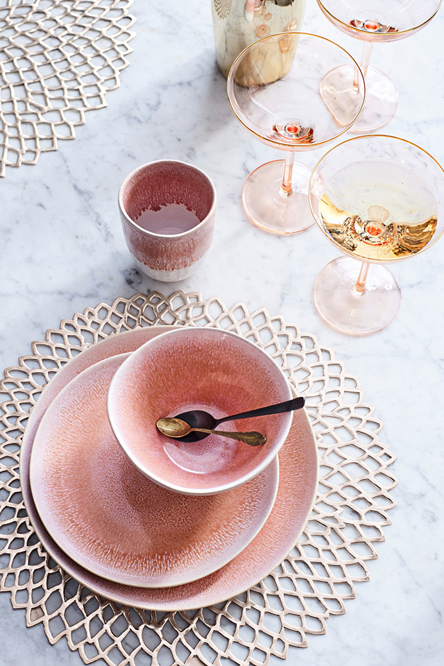 Champagnerschalen-Set, 4-tlg.