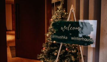 Welcome to the Carmushka Winterhouse – Welcome Dinner & DAY 1