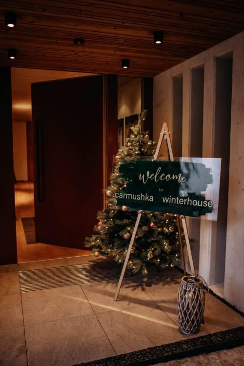 Welcome to the Carmushka Winterhouse – Welcome Dinner & DAY 1